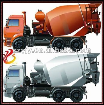 Hot sell concrete mixer truck