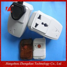 wireless remote control outdoor socket IR/RF remote control wireless socket