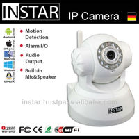 INSTAR IN-3010 Wireless Dual Audio IR Night Vision PanTilt Security Webcam Network IP Camera