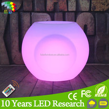 Modern design outdoor ellipse led flower pots