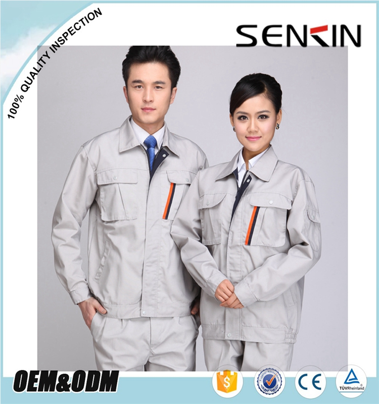 Construction Worker Uniform Scrub Denim Overalls New Design Work Clothes Customized