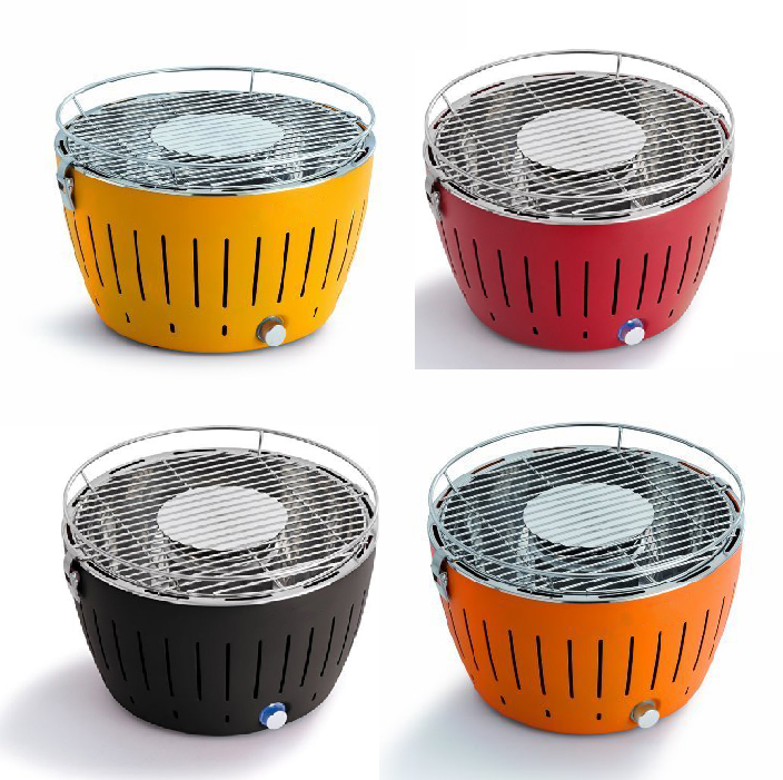 Korean Style Smokeless Portable Tabletop BBQ Barbecue Charcoal Grills