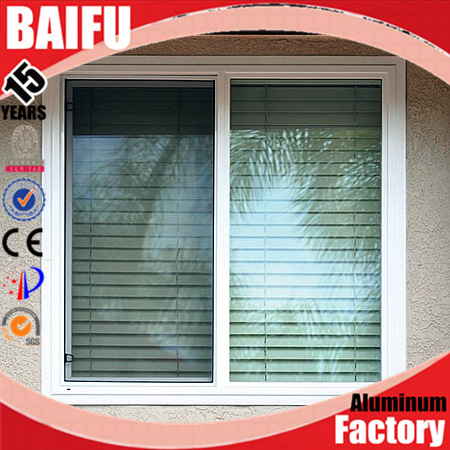 BaiFu thermal break double glazing soundproof used aluminum windows