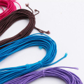 Colours Elastic Rope for Wear Beads Clothing Headwear ,Furniture Convenient Clip Rope