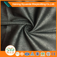2016 hot sale suede synthetic leather fabric for making bags and shoes