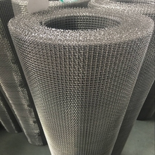 lock crimped wire mesh/ 2mm square hole crimped wire mesh screen