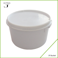 Trade assurance supplier food grade small plastic buckets with lids