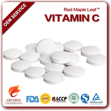 Supplement OEM 800mg chewing vitamin c tablets