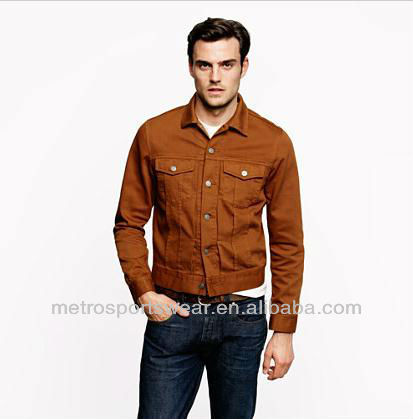 men's casual jackets twill made