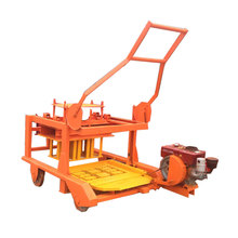 QMR4-45 small manual fly ash brick making machine for sale