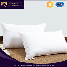 Wholesale customized logo 100% cotton pillow cover cushion for hotel