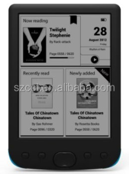 High quality cheap e ink reader with 4GB cct-6031