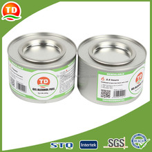 high quality hot pot alcohol gel chafing fuel