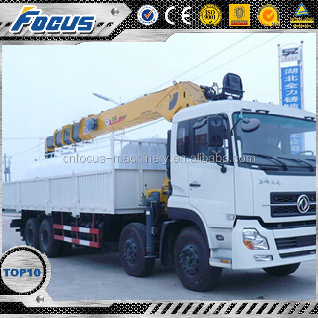 XCMG SQ20SK5Q 20 Ton Mini Telescopic Boom Truck Mounted Crane Manufacturer