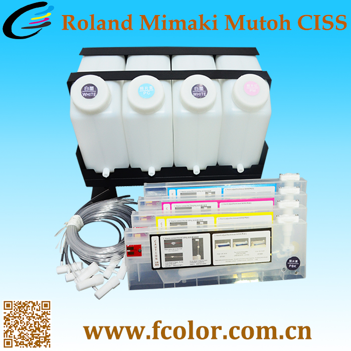 Bulk Ink System for Mutoh VJ 1604 1618 1624 1638 CISS