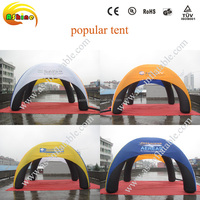 Tent Type big outdoor advertising inflatable tent/inflatable tents for event