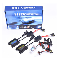 2016 Best quality H4 H7 H13 9004 35w 55w slim ballast Hid Cool Xenon Kit