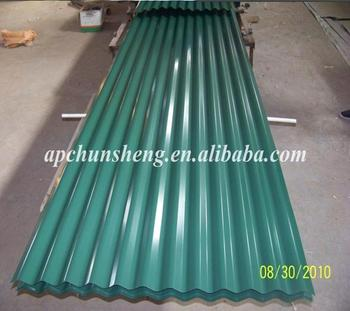 high quality prepainted corrugated steel sheet factory