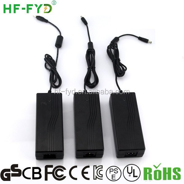 HF-FYD FY2405000 24v ac/dc power adapter with UL CUL PSE GS TUV CE EK FCC KCC BS CB SAA certificate