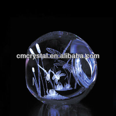 2016 wholesale 3d laser crystal figurines