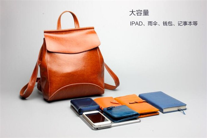 Hot fashion leather backpack for Young Ladies ,high quality backpack manufacturers from china _7