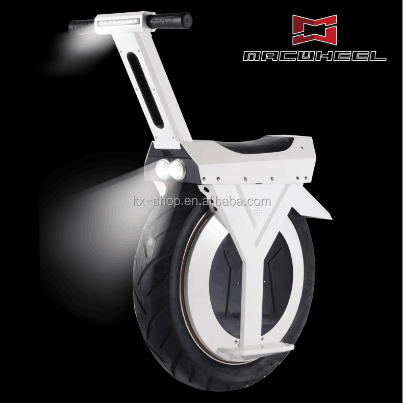 Hot-selling Big One Wheel Electric Unicycle 17inch Wheel 60v 25~30km/h Self Balancing Electric Motorcycle