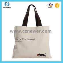 Stylish most popular nice looking cheap logo shopping tote bags