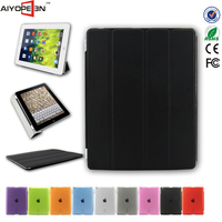 Magnetic Slim PU Leather Smart Cover Stand Case for iPad 2 3 4 Wake & Sleep Ultra-thin Multiple Shape