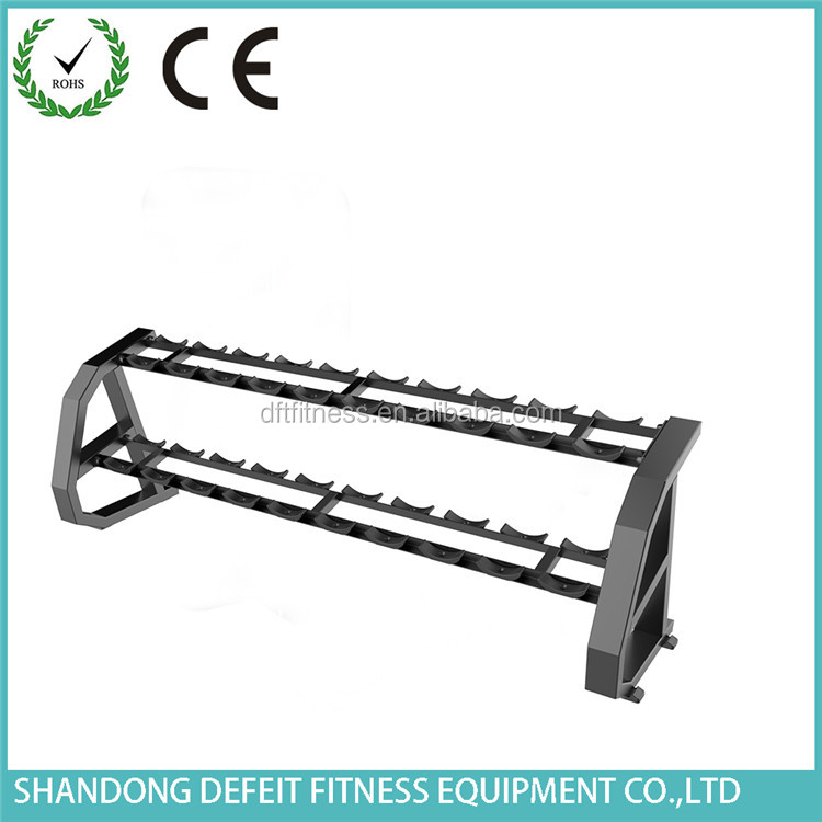 Shandong Gym Equipment / Body Slim Gym Exercise Machine Price / Dumbell Rack