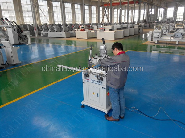 Aluminum PVC Window Copy Router Machine