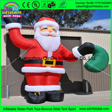 Christmas Decoration Supplier Hot Sale Inflatable Snowman, Outdoor Giant Inflatable Santa Claus For Sale