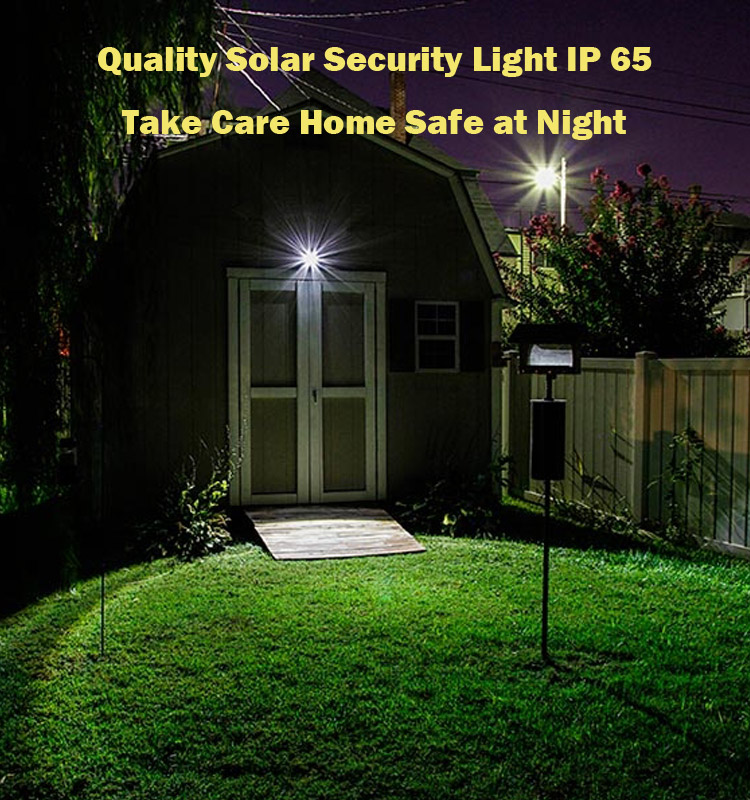 Solar 54LED Flood Light with Motion Sensor