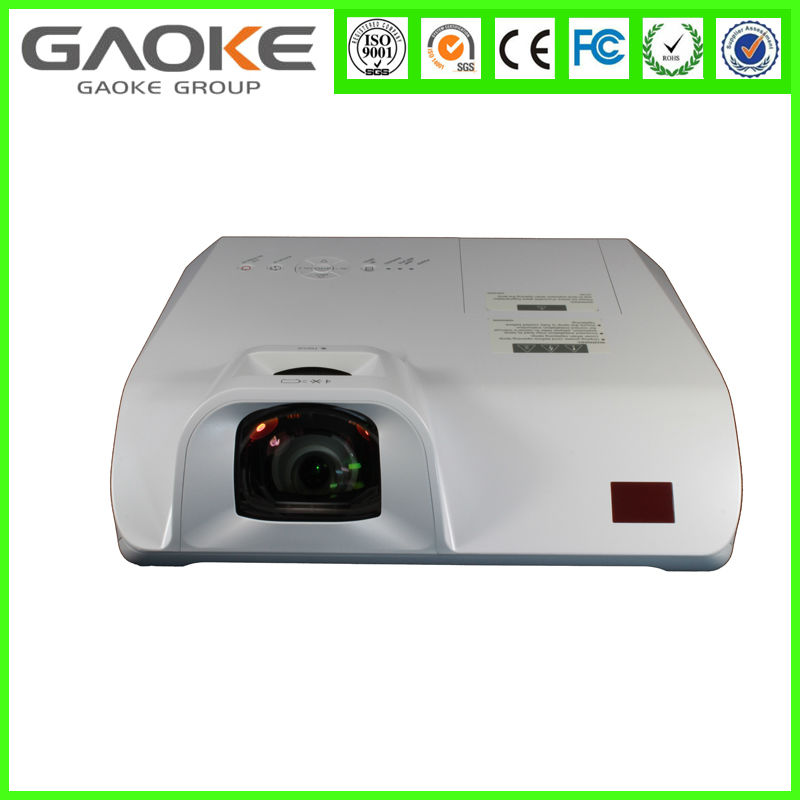 GAOKE Wholesale 1800Lumens High Quality Short Throw Data Projectors