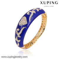 bangle-168 xuping gold jewellery designs with price copper gold bangle