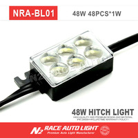 8pc IP 68 with lifetime warranty Pick-Up Truck Bed / Rear Work Box - 48 White LED Lighting System Light Kit