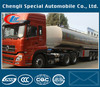 45000 liters 3 axles stainless steel milk tanker trailer