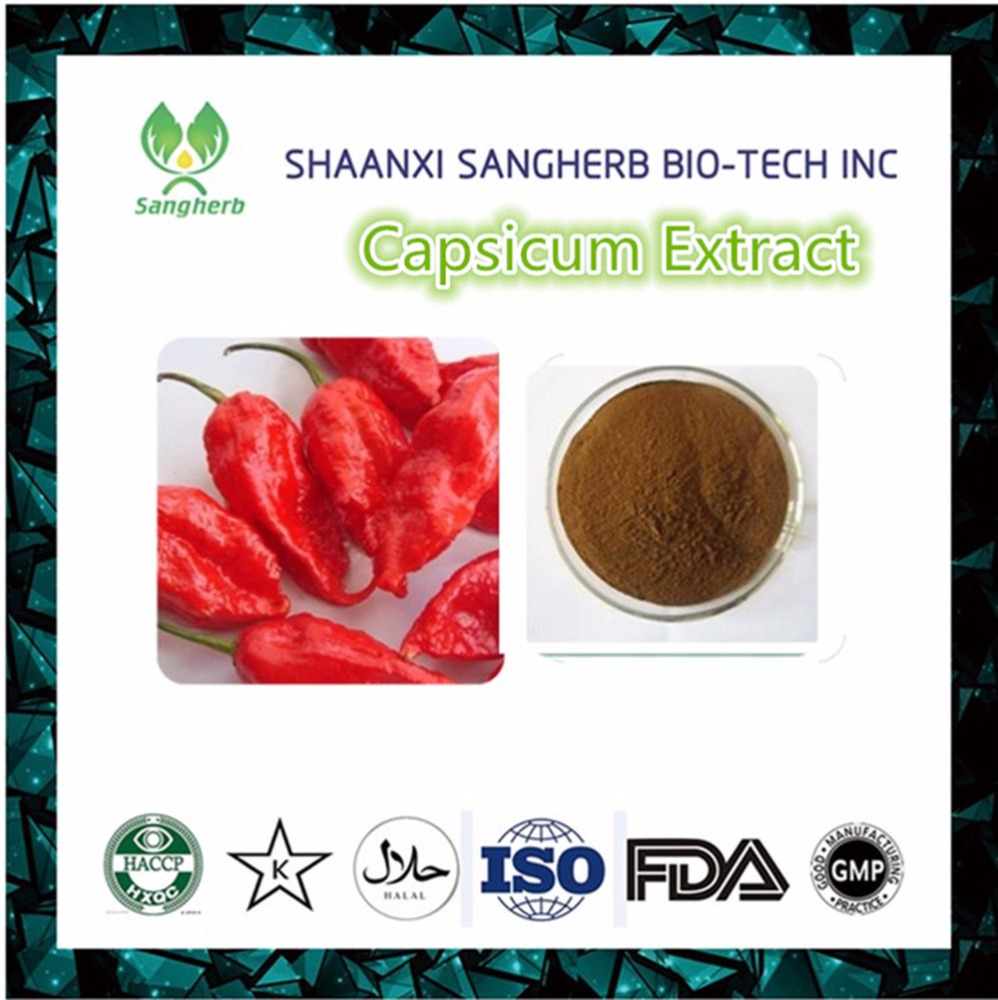 Factory Supply Capsicum Extract 99% Capsaicin