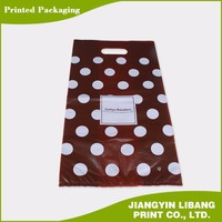 newest high quality plastic packing bags on stack for supermarket