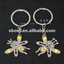 2012 Best Selling Animal Couple Metal Keychain