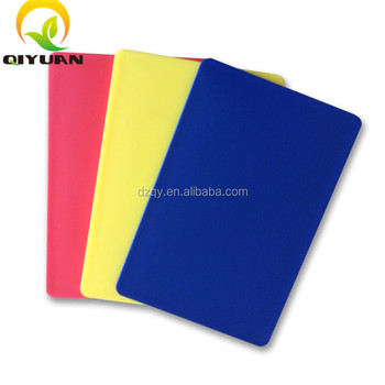 Plastic material UHMWPE cutting board for food
