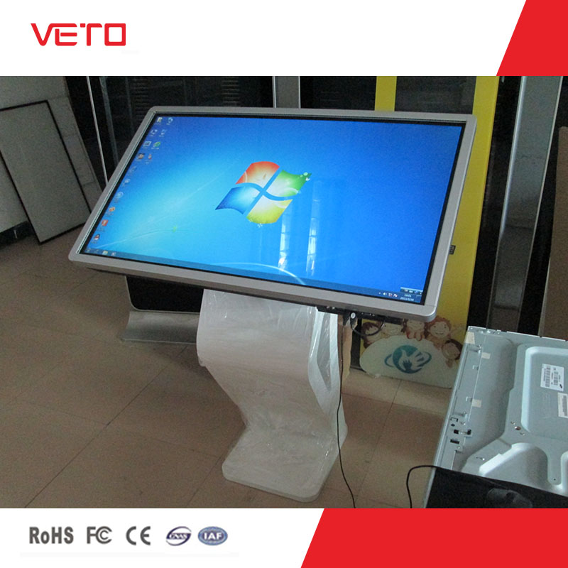 veto 42 inch interactive self-service touch kiosk with all in one and beautiful design