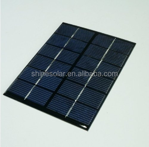 2w 6v Mini Solar Panel Solar System Module DIY For Battery Cell Phone Chargers Portable