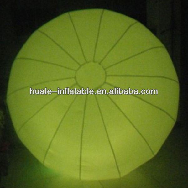 party decoration inflatable led light ball