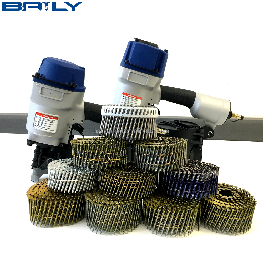 High Quality Dome Head Coil Siding Nails (factory supply)