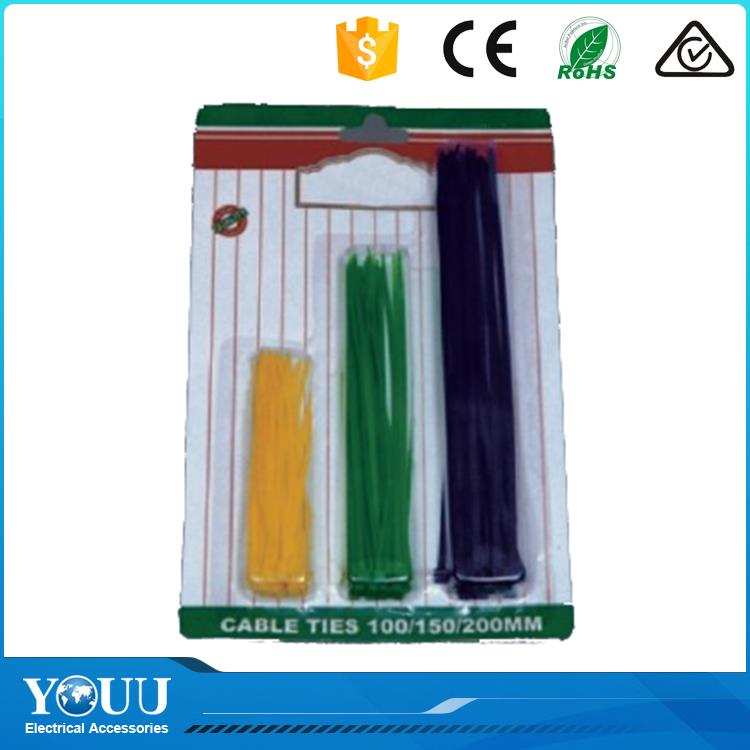 YOUU Cheap Products Wire Twist Tie Nylon Self-Lockin Printed Reusable Velcro Cable Ties