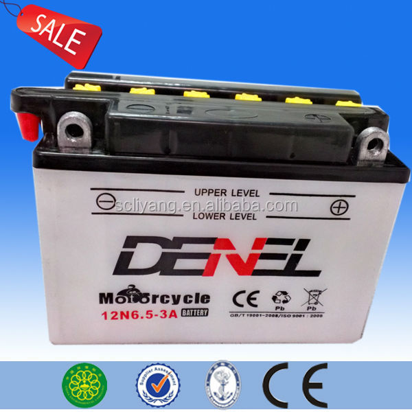 12v 6ah 10hr battery 125cc motorcycles battery