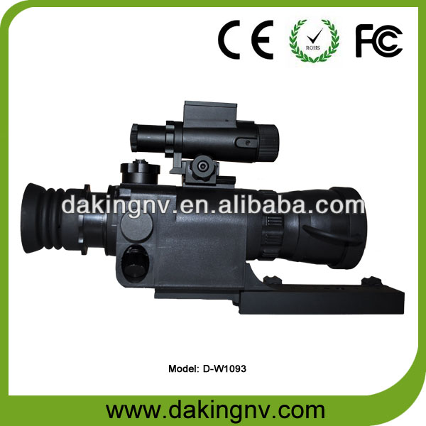 military tactical rifle scope red dot weapon sight night vision