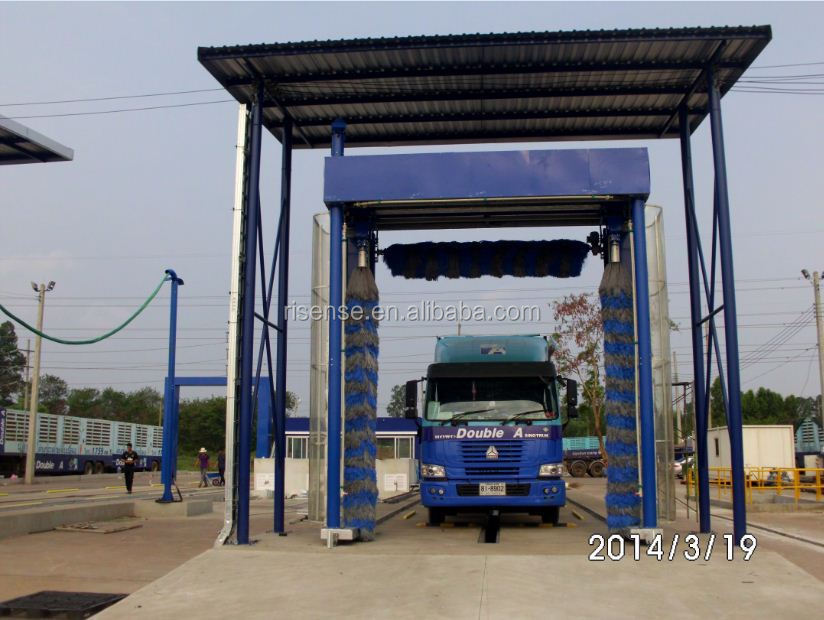 Galvanized Material Automatic Bus Washer Type and High Pressure Water Bus Washing Equipment.