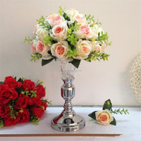 New design of crystal vase for wedding table centerpieces candelabra for party event decoration