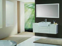 Fashional waterproof wash basin bathroom cabinet with reasonable price